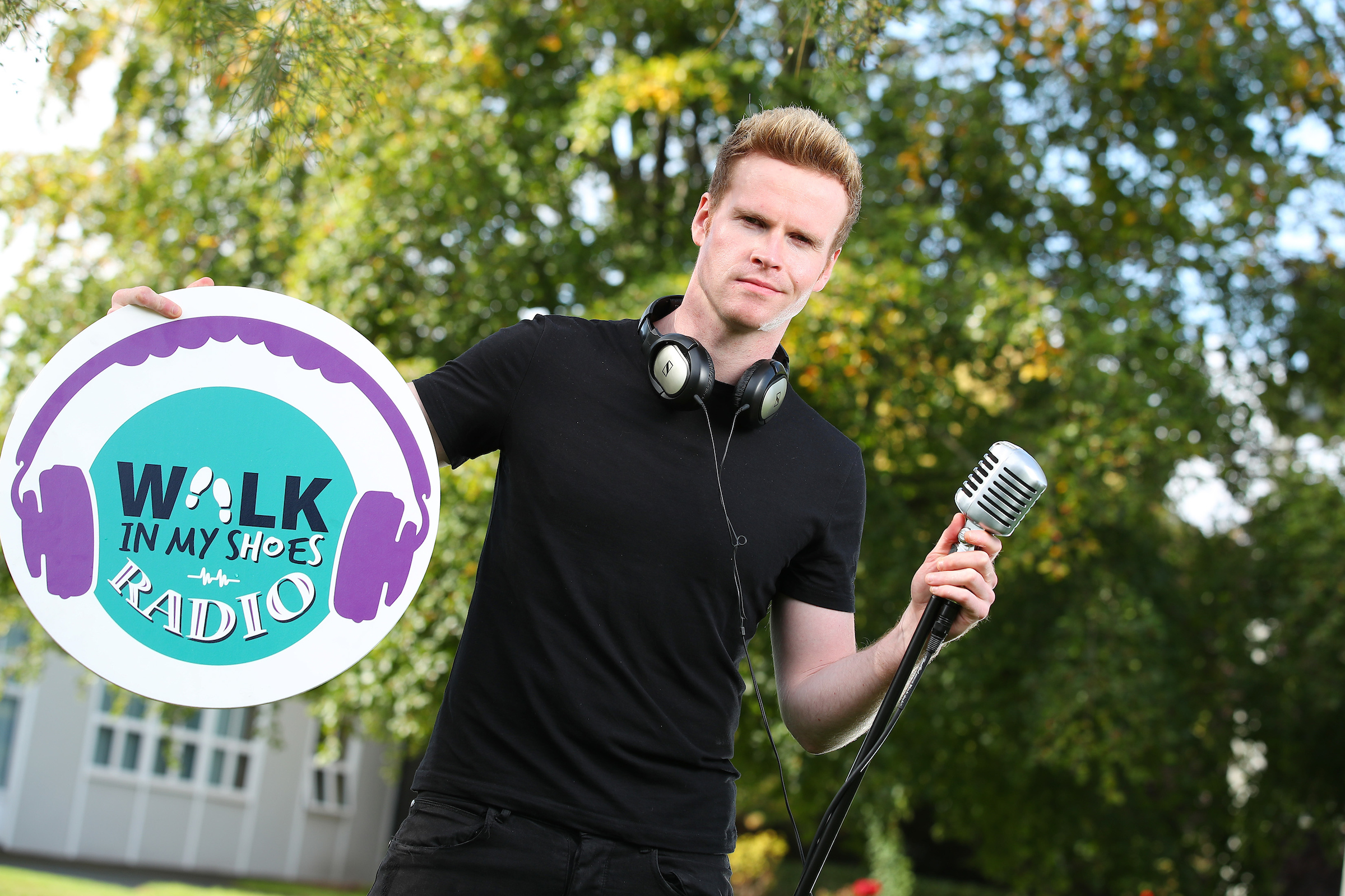 Steve Garaghan from the band Kodaline is the ambassador for the Walk in My Shoes project.