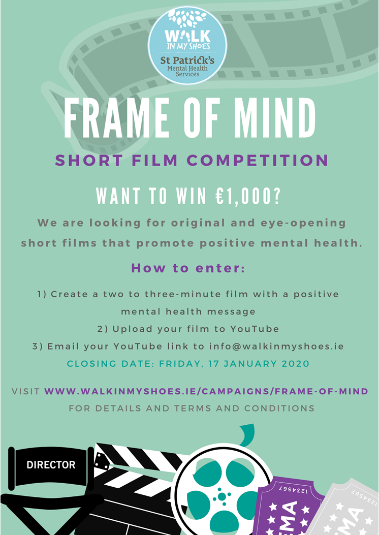 Entries to Frame of Mind close on 17 January 2020
